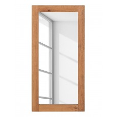 Zrcadlo FORUNAS II 19978A 107x4x50 cm dřevo dub
