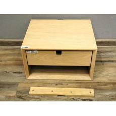 Dřevěný noční stolek ADIN 19964A 21x37x32 cm dub masiv