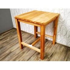 Barový stůl JanWOOD 19995 95x80x80 cm jádro buk masiv