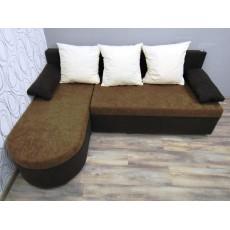 Rozkládací rohová sedací souprava s úložným prostorem 20038 85x190x140 cm textilie