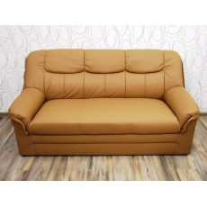 Sofa trojkřeslo 20097A 90x180x90 cm imitace kůže