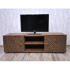 Skříňka pod TV ABADI 20441A 50x169x49 cm akácie masiv mango