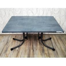 Luxusní zahradní stůl 20486A 86x120x80 cm kov pryskyřice