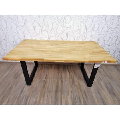 Jídelní stůl CAMANO 20507A  75x180x90 cm buk masiv kov