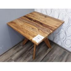 Jídelní stůl MOTALA 20667A 72x80x80 cm palisandr masiv