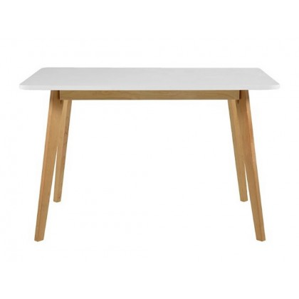 Jídelní stůl ROB II 20368A 75,5x80x120 cm dřevo bříza MDF