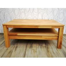 Konferenční stolek ALWESTA WOOD 20533A 48x70x110 cm bukové dřevo