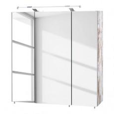 Závěsná koupelnová skříňka VERNA 20731A 70x16x70 cm dřevolaminát