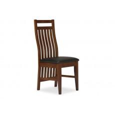 Jídelní židle BOLOGNA IV 20738A 100x50x44 cm dřevo imitace kůže