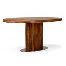 Jídelní stůl CUBUS 20690A  75x100x180 cm palisandr masiv kov nerez