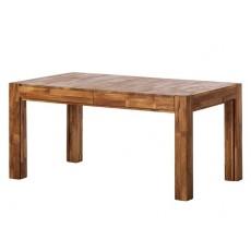Jídelní stůl rozkládací KIM WOOD 22917A 76x90x160 cm dub masiv