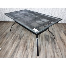 Zahradní rozkládací stůl DELPHI 21114A 75x170x100 cm kov