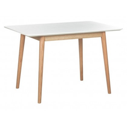 Jídelní stůl LINDHOLM III 21199A 76x140x90 cm MDF dub masiv
