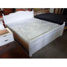 Manželská postel INGA s úložným prostorem 21248A 40x215x190 cm borovice masiv