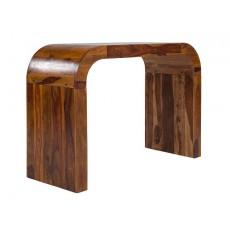 Jídelní barový stůl BELA 21399A 116x160x65 cm dřevo palisanddr masiv