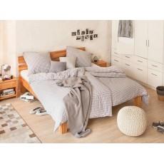 Manželská postel AresWOOD 21842A 37x206x206 cm dřevo buk jádro masiv