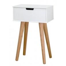 Noční stolek MITRA 21815A 62x40x30 cm dřevolaminát dub masiv