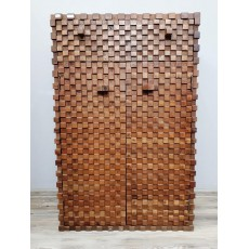 Komoda ABADI Flur 21901A 116x76x50 cm dřevo mango masiv
