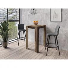 Barový stůl NORDMAN 22139A 104x60x80 cm dřevolaminát dekor staré dřevo