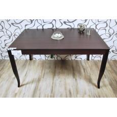 Jídelní stůl rozkládací 10579AB 75x90x140 cm tmavý
