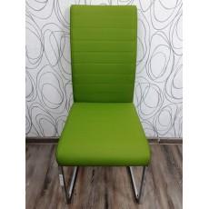 Jídelní židle 22294A 100x43x57 cm imitace kůže kov
