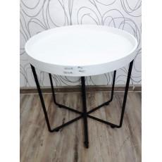 Odkládací stolek HOFMANN 22240A 50x48 cm MDF ohýbané dřevo kov