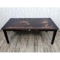 Dřevěný jídelní stůl s patinou 22606A 71x180x90 cm dřevo borovice masiv