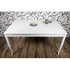Jídelní stůl nerozkládací 10495AB 75x140x90cm bílý