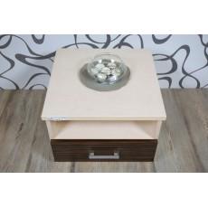 Noční stolek 10521A 35x445x435cm dřevolaminát
