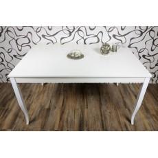 Jídelní stůl rozkládací 10493AB 75x140/180x90cm bílý