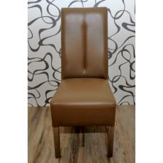 Jídelní židle 8301A hnědá