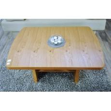 Konferenční stolek 8582A 8583A57x102x71 cm dřevolaminát dekor dub