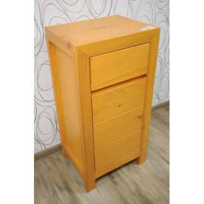 Noční stolek 11595A 90x45x35cm dřevo