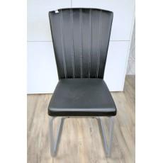 Čalouněná židle 10958A 97x42x48 cm kov koženka