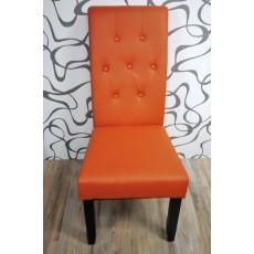 Jídelní židle 9506A oranžová