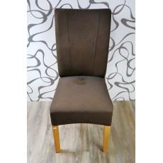 Jídelní židle 9588A hnědá