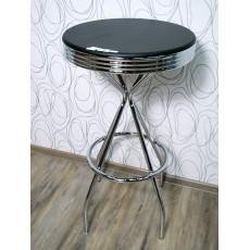 Barový stolek 15046A106x60 cm dřevolaminát kov