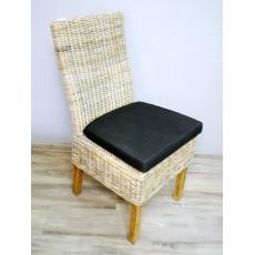Jídelní židle 15111A 100x50x65 cm dřevo proutí