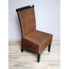 Židle 15130A 96x47x57 cm dřevo ratan