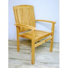 Zahradní židle 15113A 86x60x60 cm teak