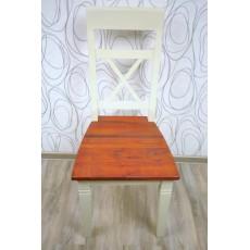 Kuchyňská židle s patinou 14605A100x34x46 cm barvené dřevo masiv