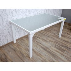 Zahradní stůl Leno 15494A 74x150x91 cm hliník sklo