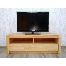 Skříňka pod TV Majona 15553A 44x125x46 cm bukové dřevo