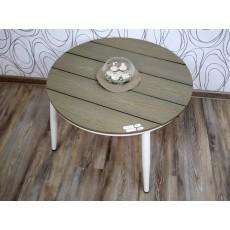 Konferenční stolek 15520A, 44x70 cm, tvrzený plast, kov