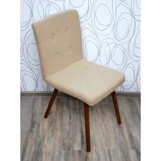 Čalouněná židle 15224A, 82x42x55 cm, dřevo, textilie