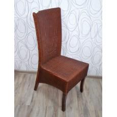 Jídelní židle ADLAN 15685A, 103x40x55 cm, dřevo, proutí