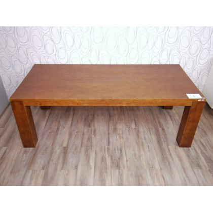 Jídelní stůl MOLLENDO 15603A, 76x220x100 cm, pinie masiv