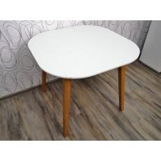 Jídelní stůl FARIS 16050 A 76x90x90 cm MDF deska dubové dřevo