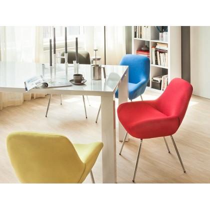 Jídelní stůl ACLE 16082A 75x180x90 cm MDF deska barva bílá povrch lesklý