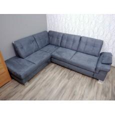 Rohová sedací souprava 16169A 90x275x225 cm mikroplyš
